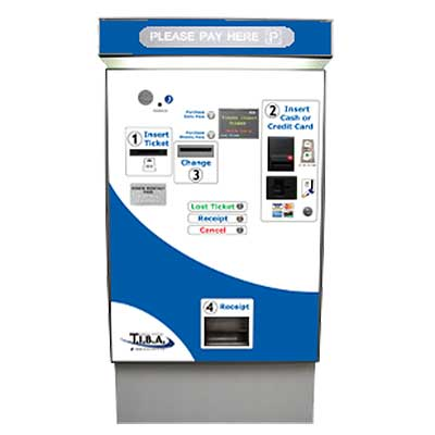 APS-30 Automated Parking Payment Station